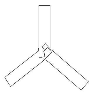 cardboard boomerang